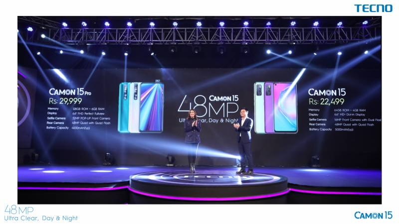 TECNO's CAMON 15 earns $3.4m orders within 2 hours of launch in Pakistan
