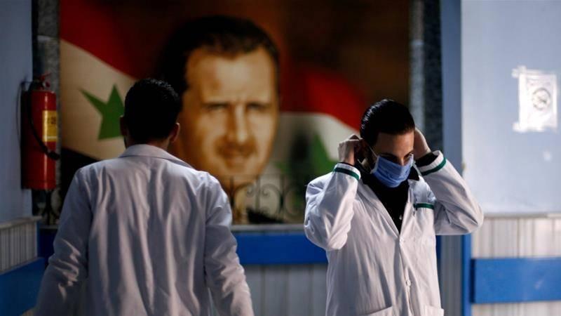 Syria confirms first coronavirus death