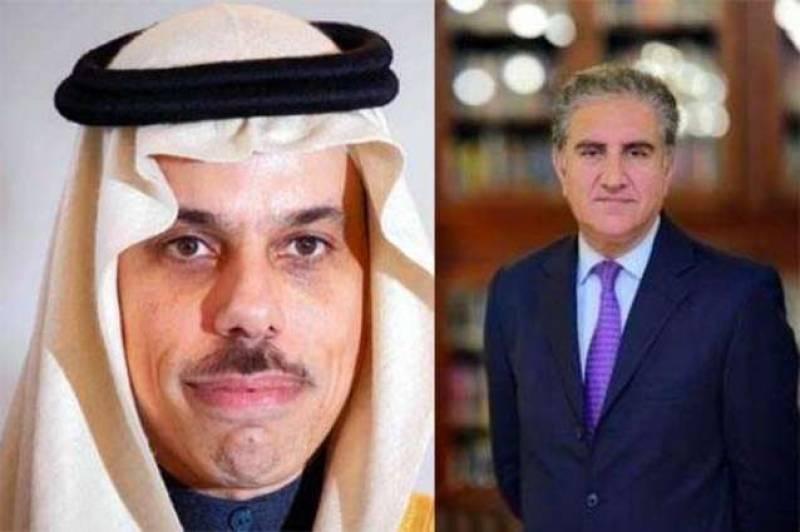 FM Qureshi telephones Saudi counterpart discuss coronavirus pandemic