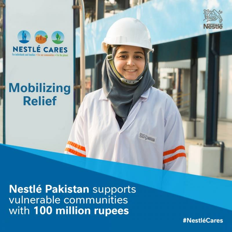 COVID-19 pandemic: Nestlé Pakistan to support vulnerable communities with 100 million rupees