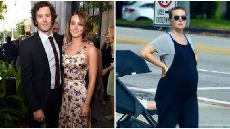 Leighton Meester and Adam Brady pregnant with baby no. 2