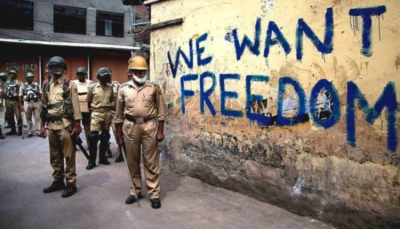 Three soldiers dead, 5 freedom fighters martyred in Indian-Controlled Kashmir