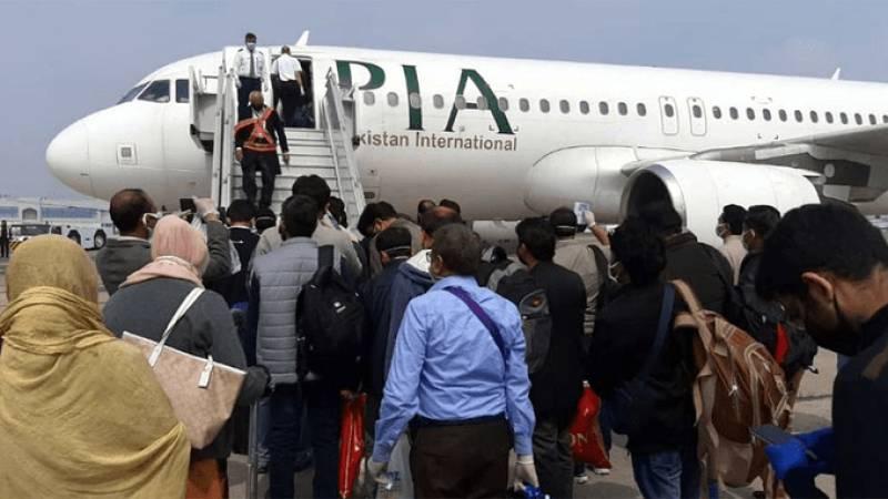 128 Pakistanis stranded in Uzbekistan return via PIA special flight