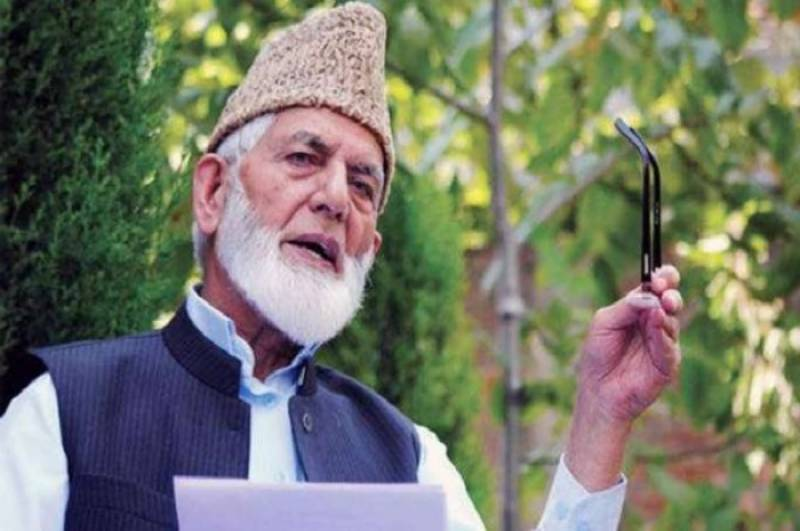 Hurriyat leader Syed Ali Gilani warns India of dire consequences over domicile issue
