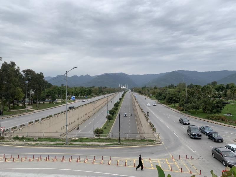 Lockdown extended in Islamabad till April 14