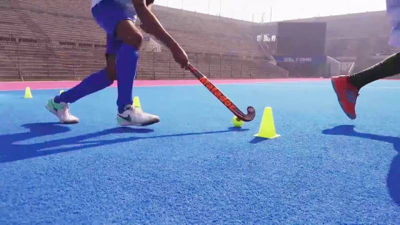 Hockey players start training at home to maintain high-level of fitness