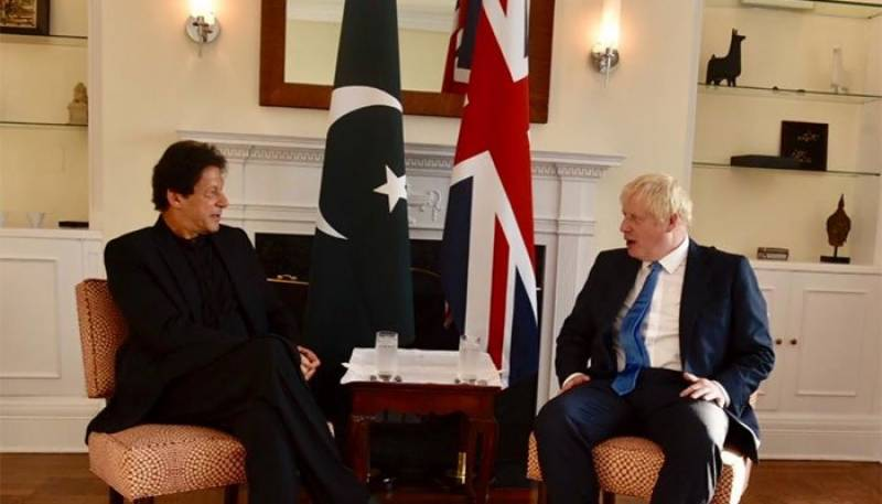 PM Imran sends best wishes to British counterpart Jhonson suffering from COVID-19