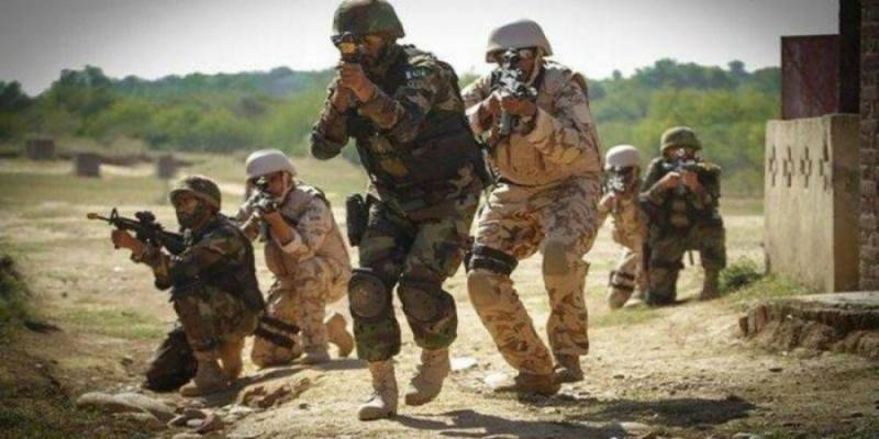 Security forces kill seven terrorists in NW, Mohmand IBOs: ISPR