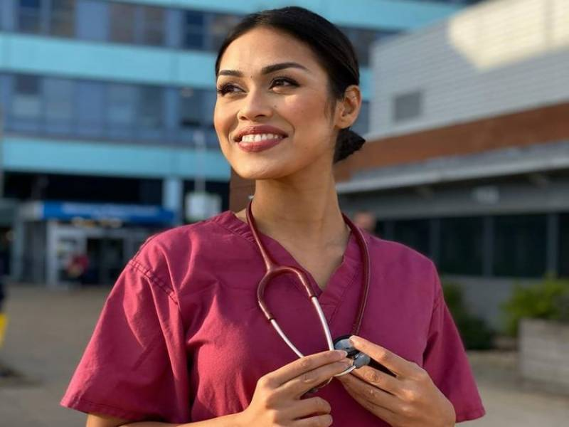 COVID-19: Miss England 2019 returns to her job as doctor