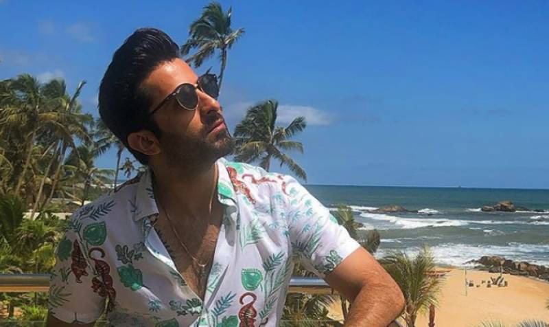 Sheheryar Munawar urges fans to stay home and stay safe