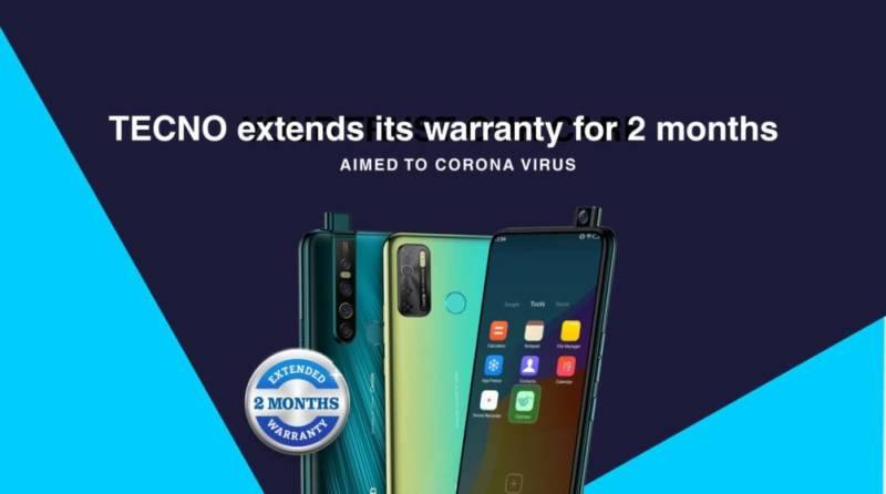 TECNO extends warranties on smartphones amid coronavirus lockdown