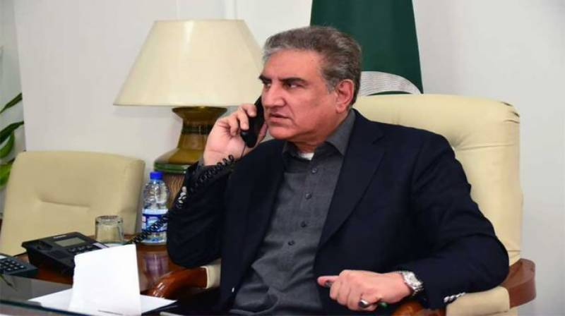 FM Qureshi phones British counterpart over COVID-19
