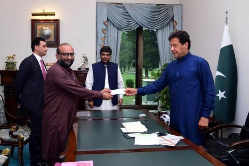 Edhi Foundation, APTMA donate Rs60m in PM's COVID-19 Relief Fund