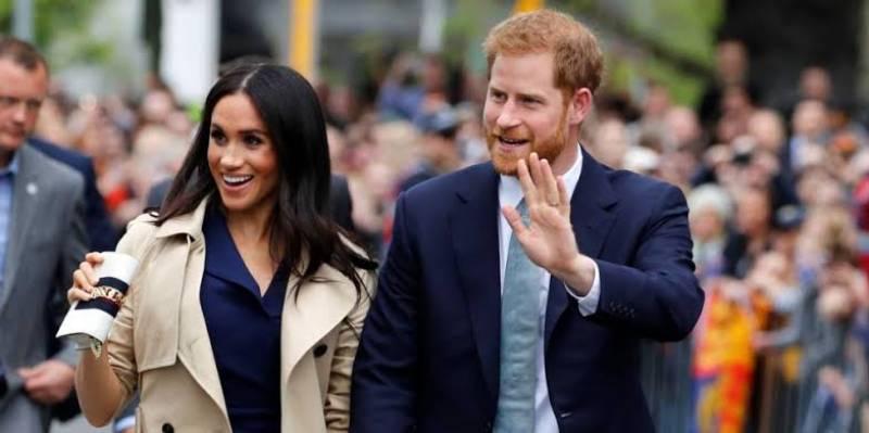 Prince Harry and Meghan Markle help LA charity distribute meals amid lockdown