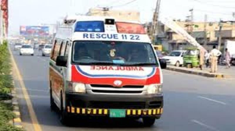 Six injured after Rescue 1122 vehicle hit van in Dir