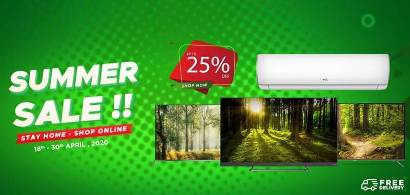 TCL launches online summer sale in Pakistan