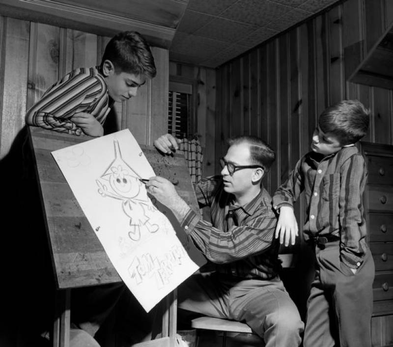 Gene Deitch: Tom and Jerry animator dies at 95