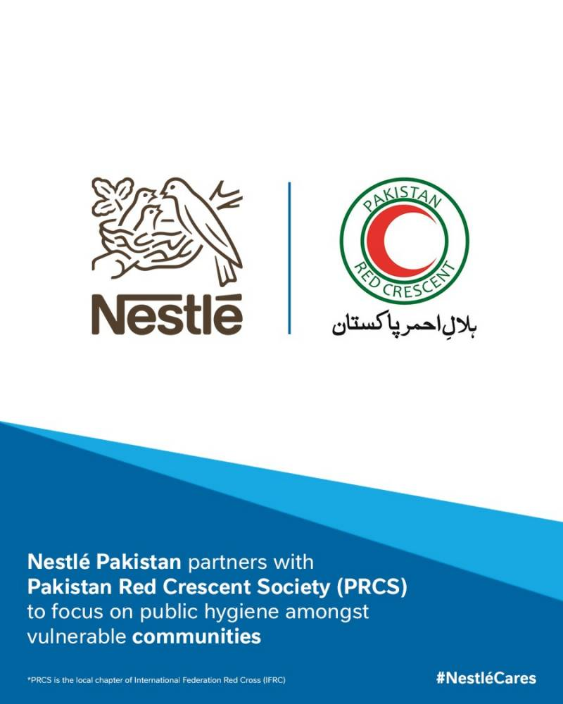 Nestlé Pakistan steps up response to COVID-19 pandemic; partners with Pakistan Red Crescent Society