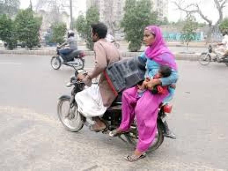 Sindh bans pillion riding in Karachi