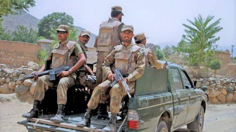 Security forces kill five terrorists in North Waziristan, soldier martyred