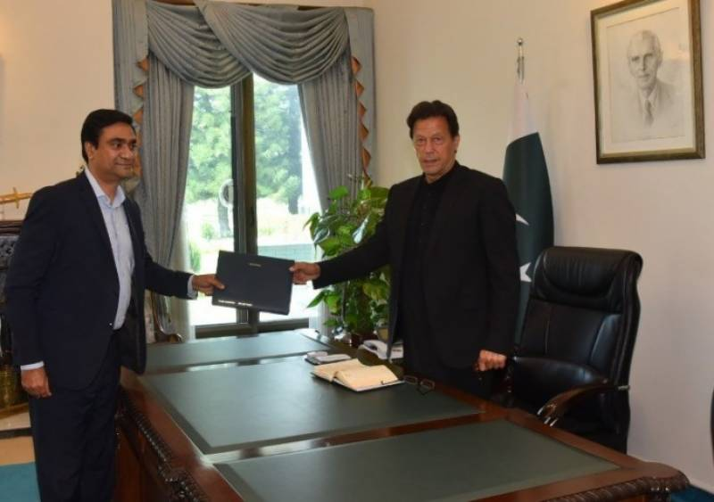 Telenor gives Rs50m cheque to PM for Corona Relief Fund