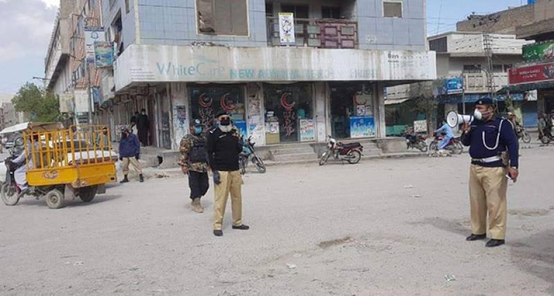 Balochistan extends coronavirus lockdown till May 5