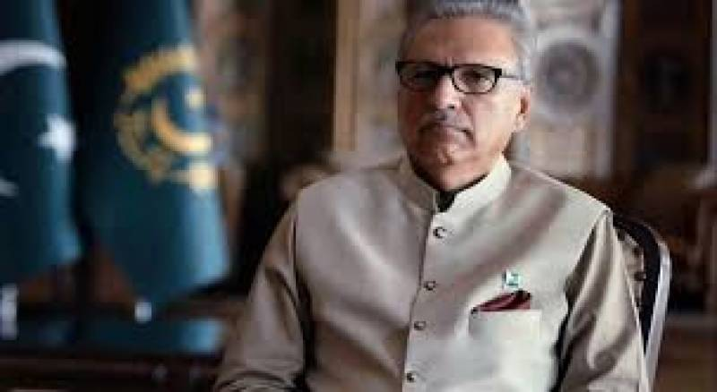 Entire nation united against coronavirus pandemic, says President Alvi