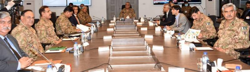 Pakistan Army chief visits NCOC in Islamabad