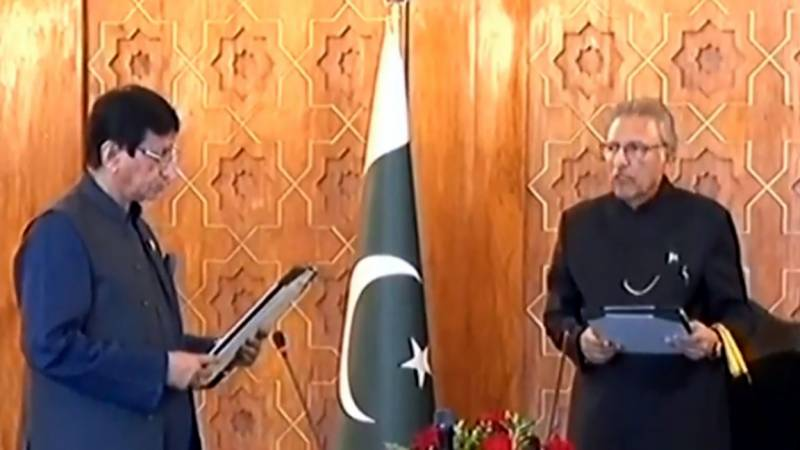 PM Imran expands cabinet as MQM-P's Ameen-ul-Haq takes oath as federal minister