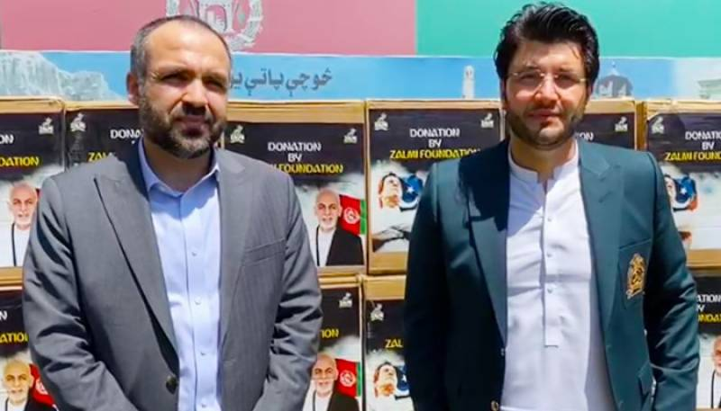Zalmi Foundation hands over 50,000 masks, protective gear to Afghanistan