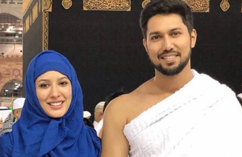 Mehwish Hayat takes the 'Oh Na Na Na' challenge on Tiktok with her brother