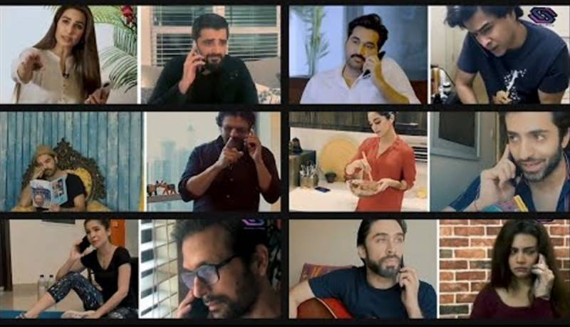 Pakistani celebrities warn against C0VID-19 impacts through short film 'call to action'