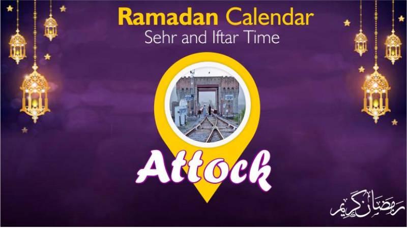 Ramadan Pakistan: Sehri Time Attock, Iftar Time Attock, Ramadan Calendar 2020