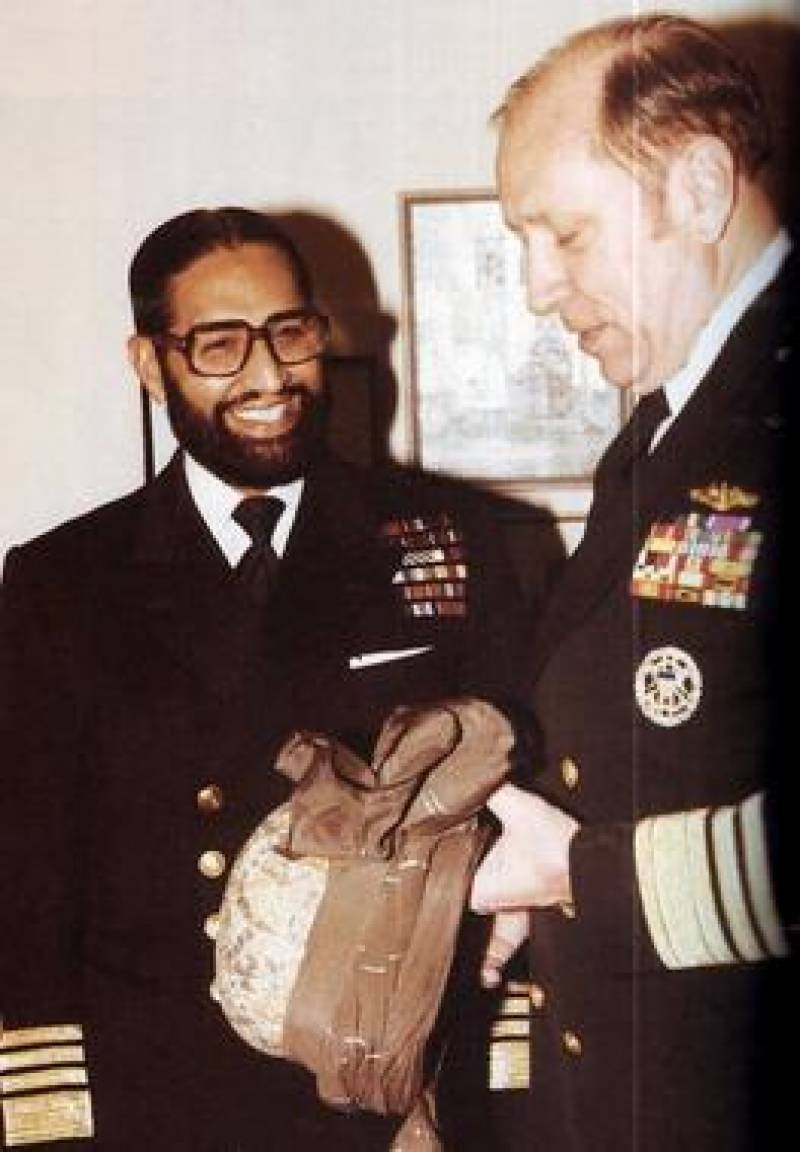 Ex-chief of Pakistan Navy Admiral Mohammad Sharif passes away
