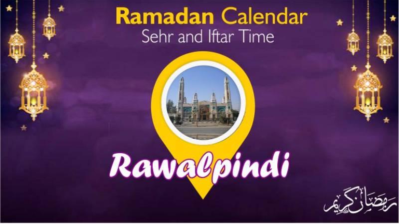 Ramadan Pakistan: Sehri Time Rawalpindi, Iftar Time Rawalpindi, Ramadan Calendar 2020