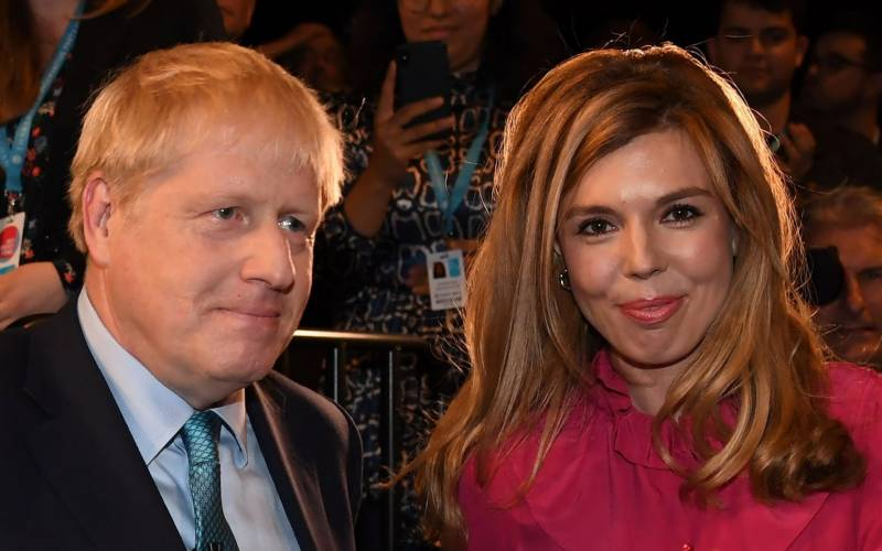 British PM Boris Johnson's fiancee gives birth to baby boy