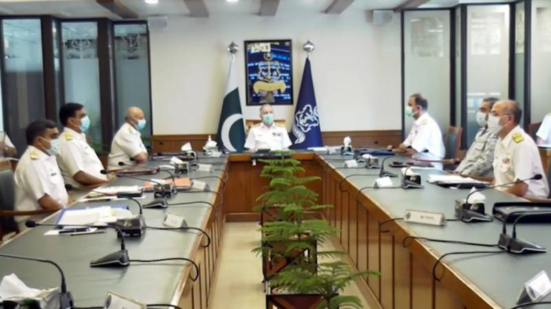 Naval Chief expresses satisfaction over operational preparedness of Pakistan Navy