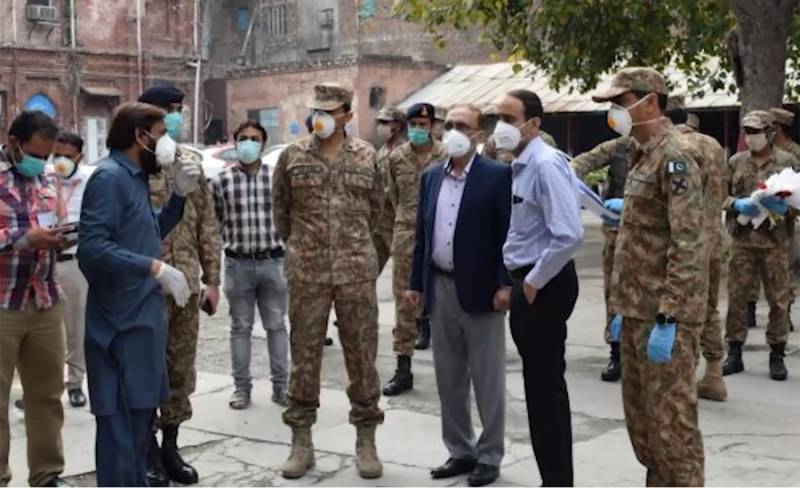 Pak Army assisting civil administration in containment efforts of COVID-19: ISPR