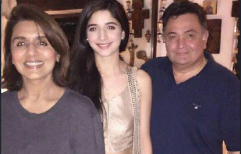 Mawra Hocane deeply shocked over the death of Rishi Kapoor