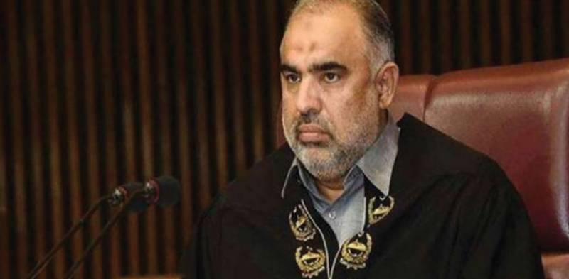 NA Speaker Asad Qaiser tests positive for COVID-19