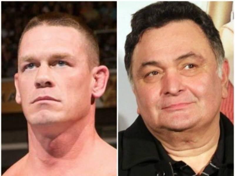 John Cena pays tribute to Rishi Kapoor