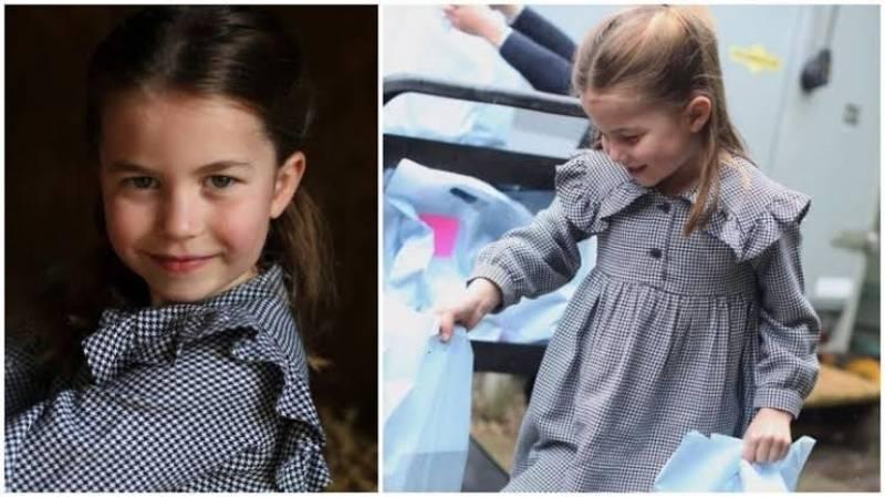 Princess Charlotte helps needy ahead of fifth birthday