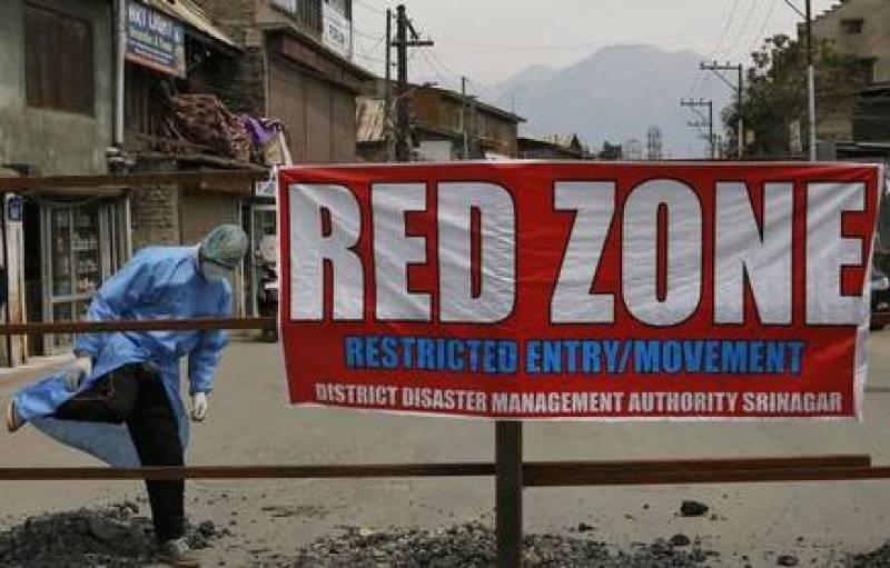 Coronavirus: India declares occupied Kashmir valley, Jammu districts as red zones