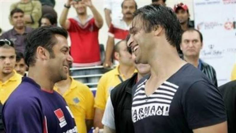 Shoaib wants Salman to play the lead in his biopic - if ever made!