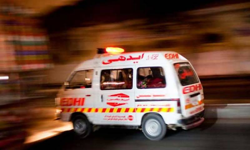 Roof collapse incident kills three of a family in Karachi