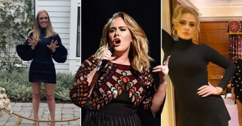 Adele is unrecognizable in this post-weight loss picture