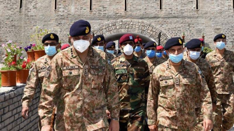 Army chief in Kohat to inspect virus relief efforts, border security