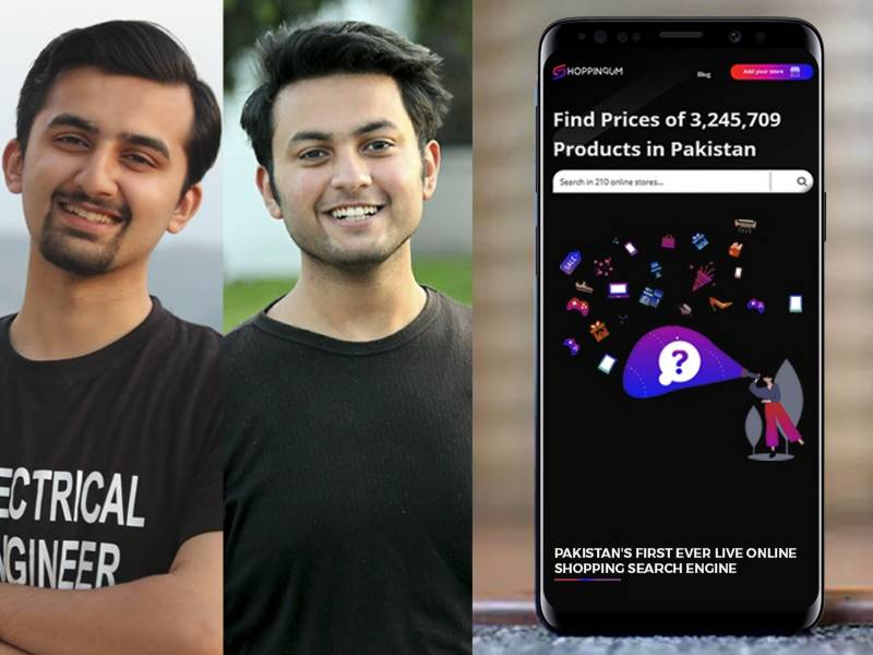 Pakistan's first real-time Online Shopping Search engine launched by GIK Students to enable shopping during lockdown