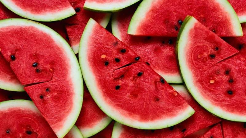 Top five health benefits of eating watermelon