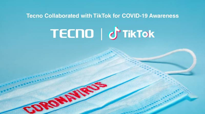Win exclusive Camon 15 by participating in TECNO's COVID-19 awareness campaign on TikTok